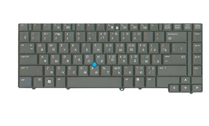 Клавиатура HP EliteBook (8530W) с указателем (Point Stick) Black, RU - фото 2